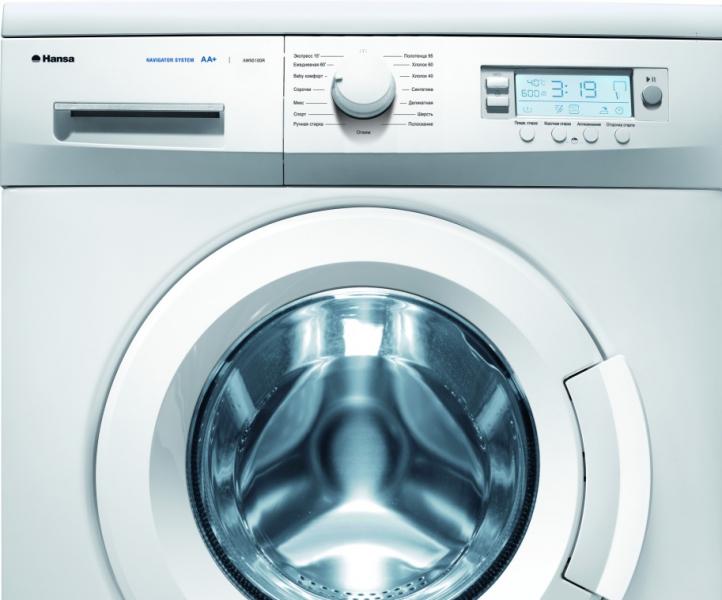 Ошибки и неисправности стиральных машин Hansa в фото