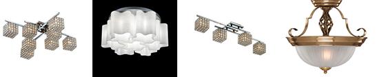 Особенности выбора потолочных и подвесных люстр