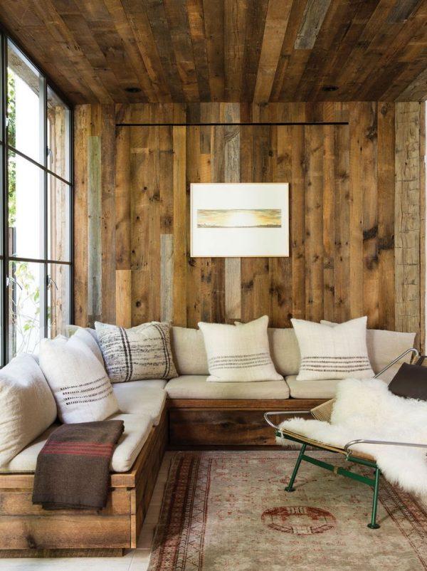 Отделка стен в прихожей ламинатом — фото дизайна, варианты монтажа