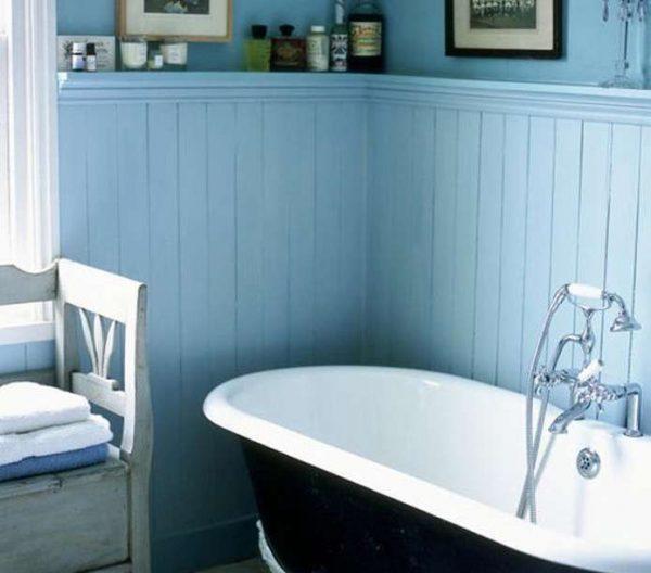 Отделка ванной комнаты пластиковыми панелями своими руками — видео