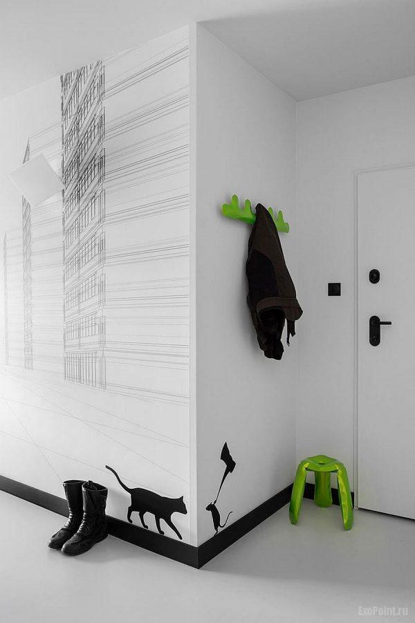 Прихожая в современном стиле — 110 фото идей дизайна
