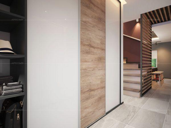 Прихожая в стиле лофт: фото оформления коридора в квартире