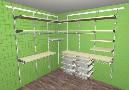 Проектирование и сборка гардеробных систем Аристо