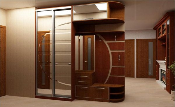 Шкаф-купе в прихожую — варианты наполнения, фото внутри
