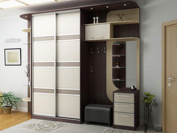 Шкаф глубиной 40 см в прихожую — 120 фото в интерьере