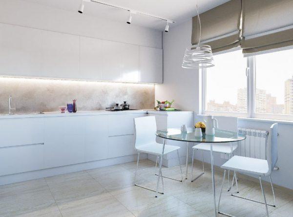 Шторы для кухни: фото дизайна 2018 года, современные новинки