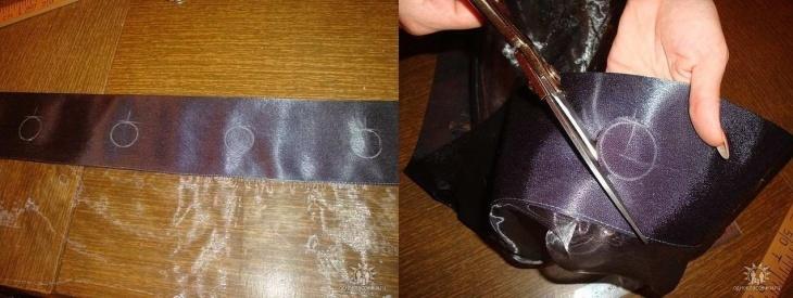 Шторы на люверсах в гостиную: особенности и пошив своими руками в фото