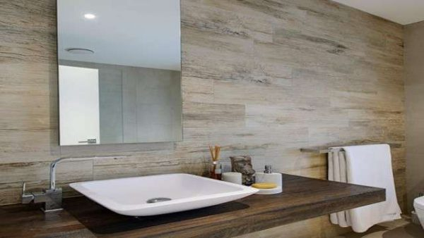 Современная плитка для ванной комнаты: выбор стиля, материалы, фото дизайна
