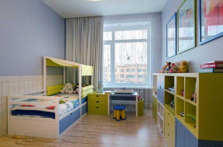 Современный интерьер детской комнаты