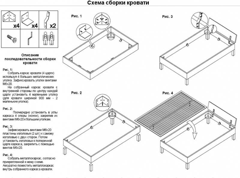 Спальная кровать своими руками: пошаговая инструкция в фото