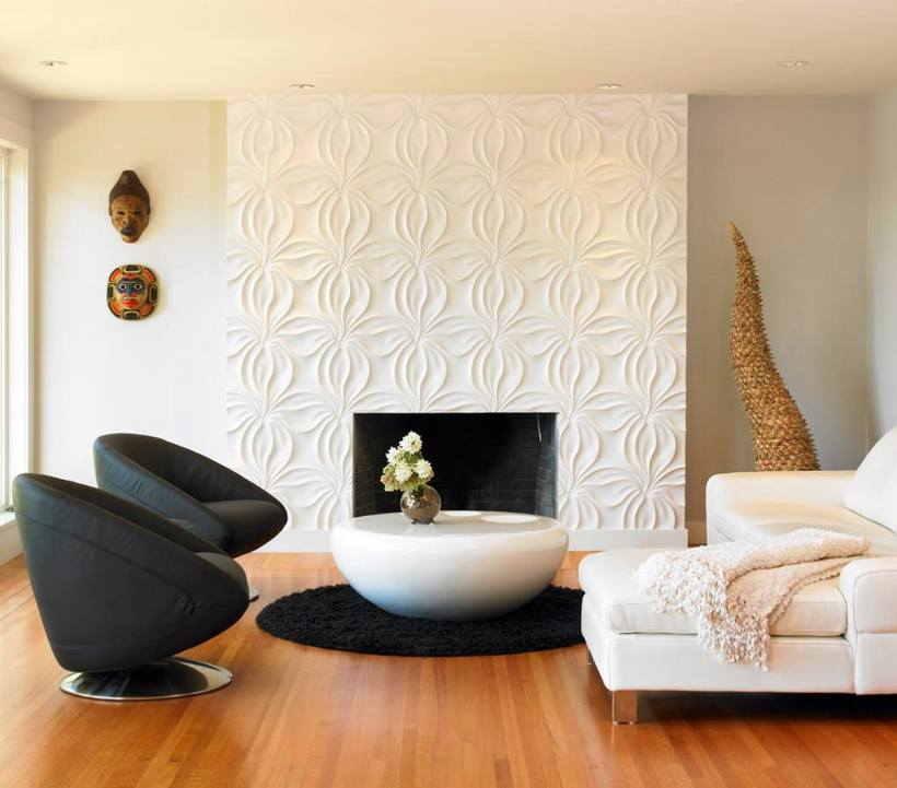 Стеновые панели для внутренней отделки: 100 фото примеров оформления