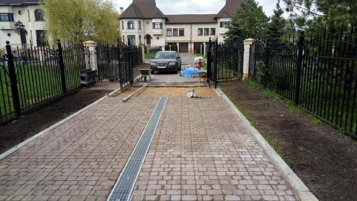 Тротуарная плитка для дома