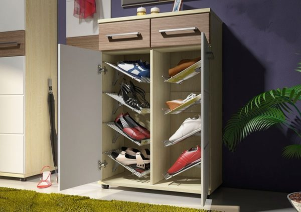 Тумба для обуви с сиденьем в прихожую — 110 фото интерьеров