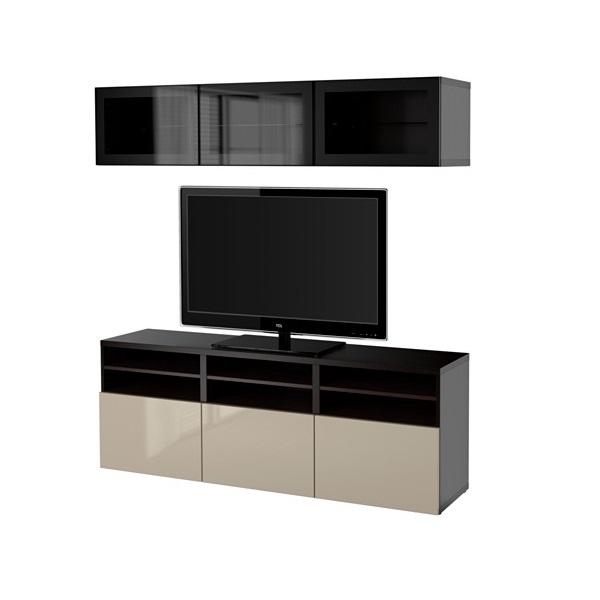 Тумбы под телевизор из каталога Икеа — способ сделать обстановку в гостиной удобной