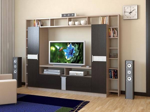 Тумбы под ТВ в гостиной – идеальное размещение Вашего телевизора