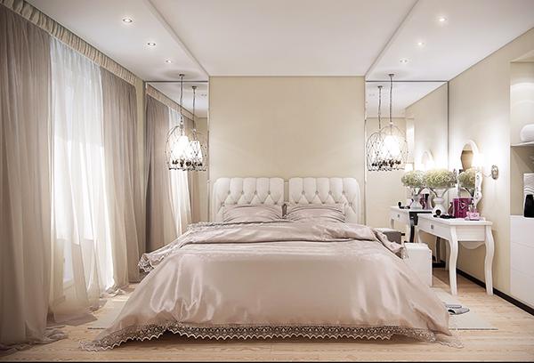 Тюль для спальни – выбор, который существует в фото