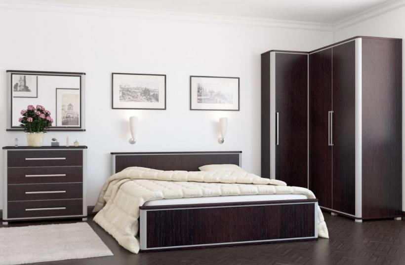 Угловые шкафы в спальне — 50 фото моделей 2018 года