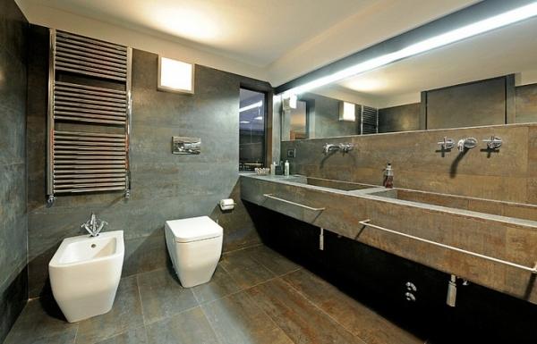 Ванная в стиле лофт – особенности интерьера, идеи, фото
