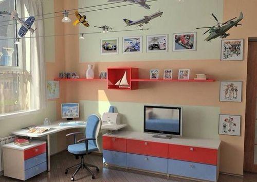 Варианты дизайна интерьера детской для школьника