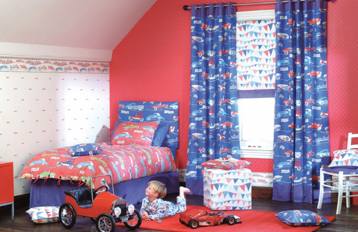 Выбираем дизайн штор для детской комнаты подростка в фото