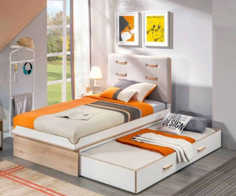 Выдвижная(выкатная) кровать для двоих детей — 50 фото