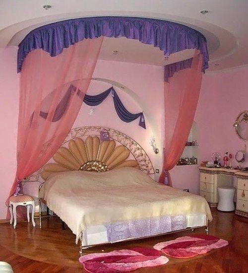 Всё про балдахин над кроватью