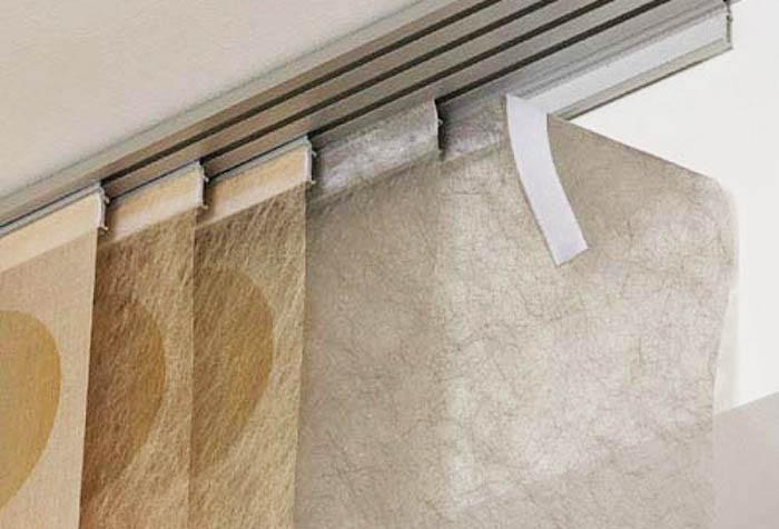 Японские шторы: восточный дух лаконизма в фото