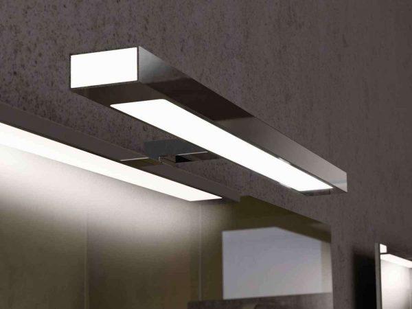 Зеркало с подсветкой в ванную: виды зеркал, варианты ламп для светильников