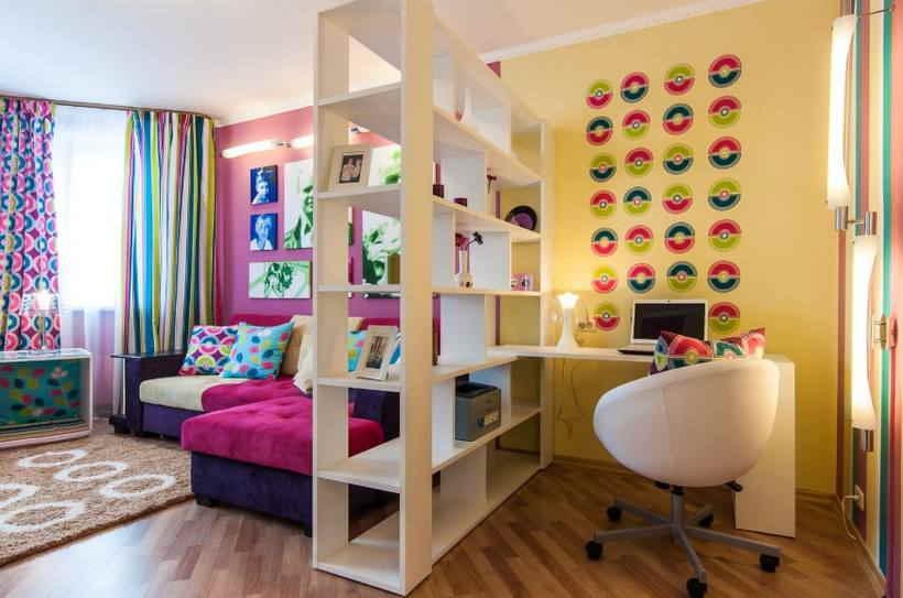 Зонирования гостиной — 30 приемов дизайна комнаты