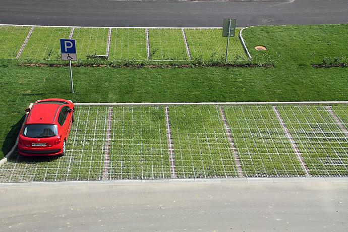 Как сделать придомовую парковку 206