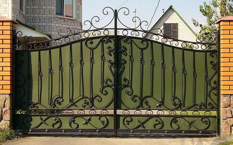Как изготовить кованые ворота