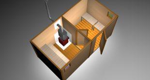 Дачные раздевалки: дешевое решение для комфортного отдыха