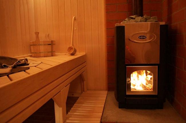Особенности финских дровяных печей для бани