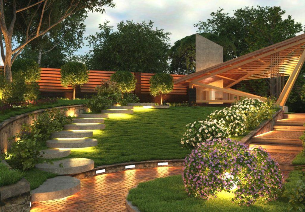Кубическая форма в архитектуре и ландшафтном дизайне