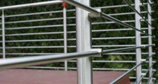 Изготовление перил из нержавеющей стали. Преимущества перил, поручней и ограждений для лестниц из нержавейки